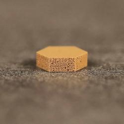 Butée polyuréthane hexagonale Diam. 11mm, ép.  3,2mm SJ 5201