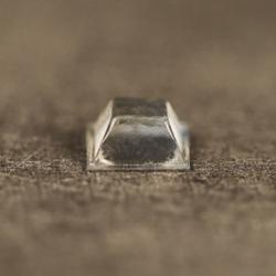 Butée polyuréthane carrée 20,6x20,6mm, ép. 7,6mm 3M SJ 5323