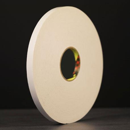 Ruban mousse polyéthylène blanc protecteur papier 3M 9515W