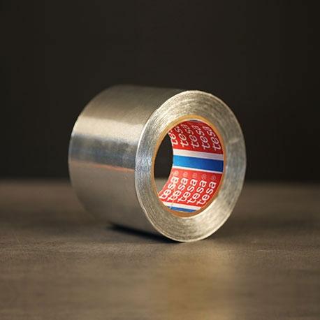 Ruban aluminium avec protecteur transparent Tesa 50565