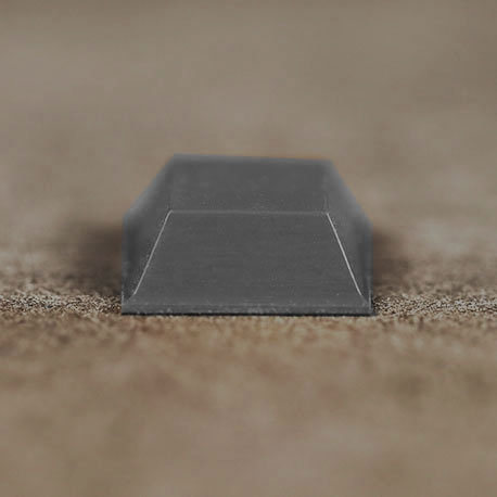 Butée polyuréthane carrée 20,6x20,6mm, ép. 7,6mm 3M SJ 5023
