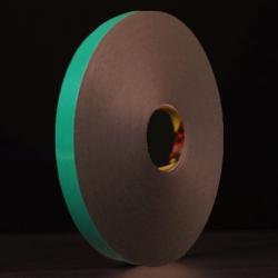 Ruban mousse polyéthylène noir protecteur papier 3M 9508BF