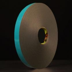 Ruban mousse polyéthylène noir protecteur papier 3M 9515BF