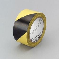 Ruban vinyle jaune et noir 3M 766