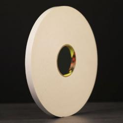 Ruban mousse polyéthylène blanc 3M 9536