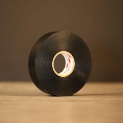 Ruban tissu d'acétate noir 3M Scotch® 11