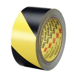 Ruban vinyle noir et jaune 3M 5702