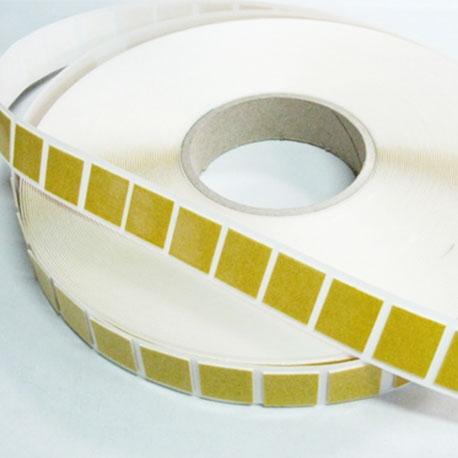 Mousse PE adhésif caoutchouc ép. 0.8mm - Format carré