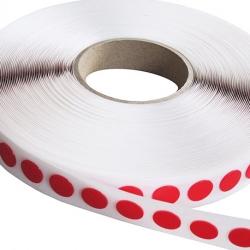 DF transparent adhésif acrylique ép. 0.5 - Format rond